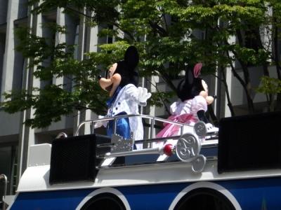 ディズニーのパレード