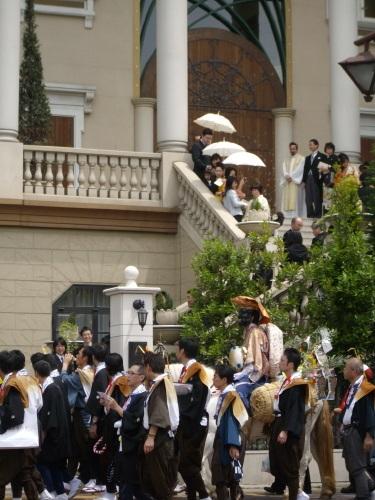 チャペルで結婚式