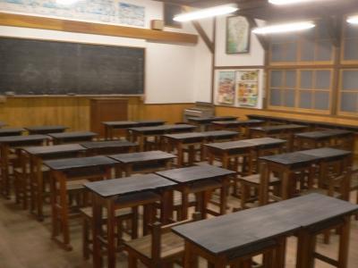 学校の教室もあります